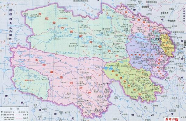 青海格尔木地图_青海省概况-